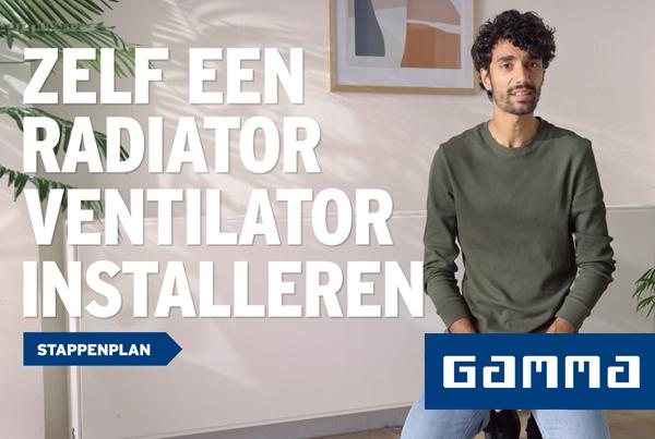 Gamma – radiator ventilator