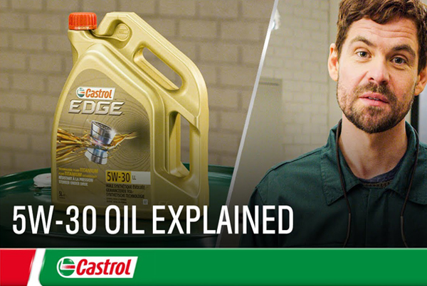 Castrol 5W-30 oil explained