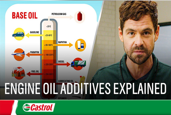 Castrol – Engine oil additives explained